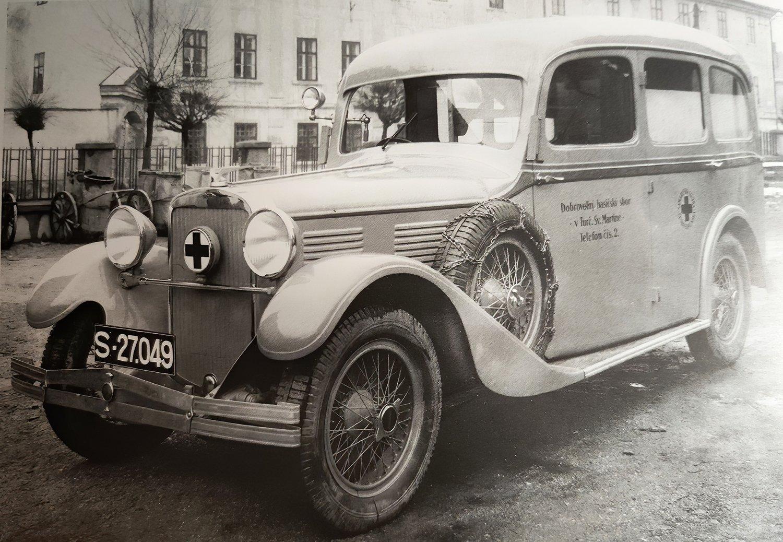 Parádička z knihy J. Tučeka: Sanitky, 1935 (Vasilij)