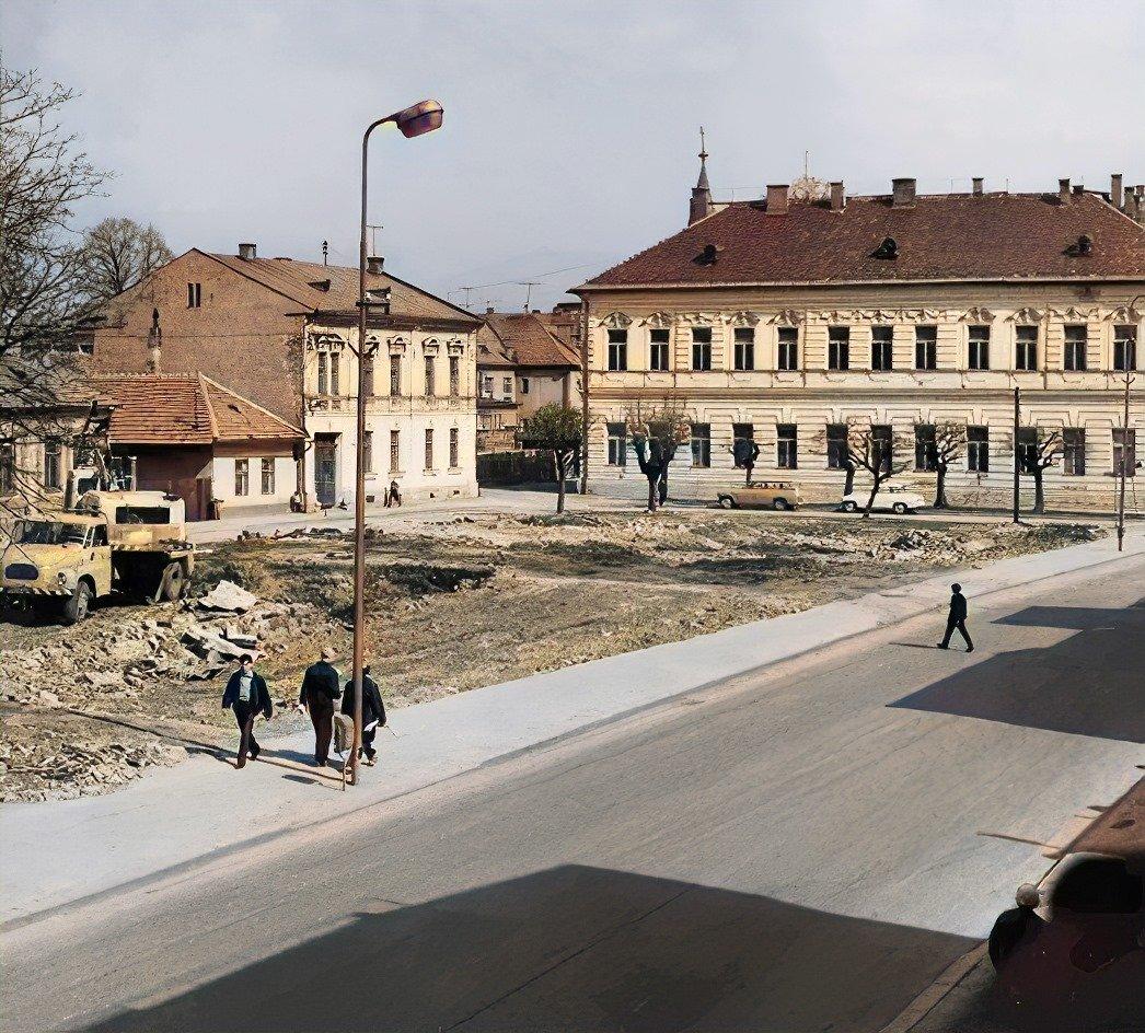 Centrum, koniec 70tych rokov