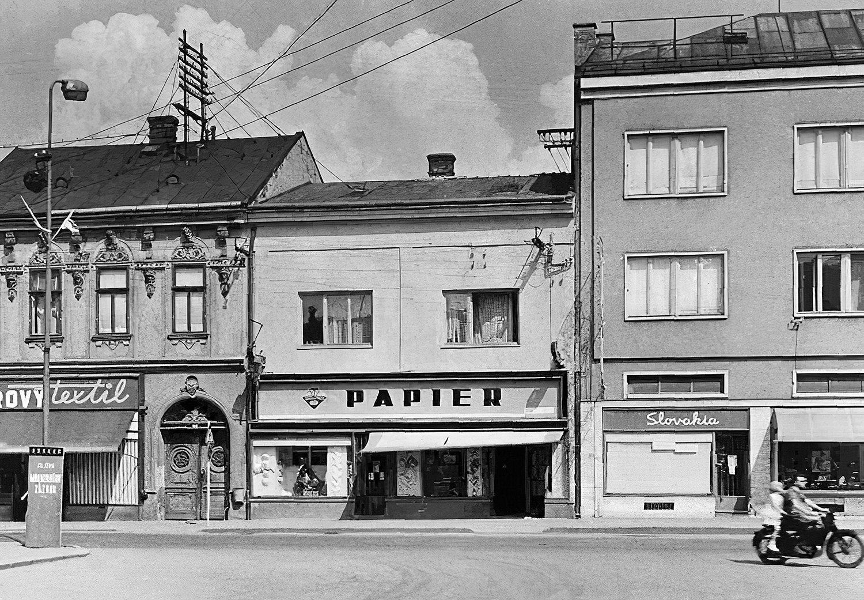 Letná pohoda v meste, 70te roky