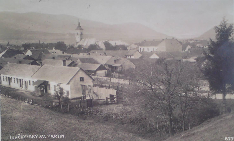 1922 - pohľad na Martin