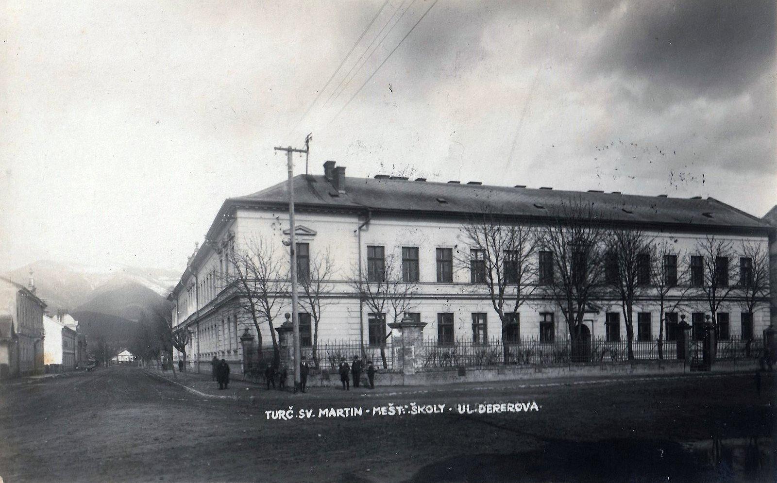 1924 - Obchodná škola