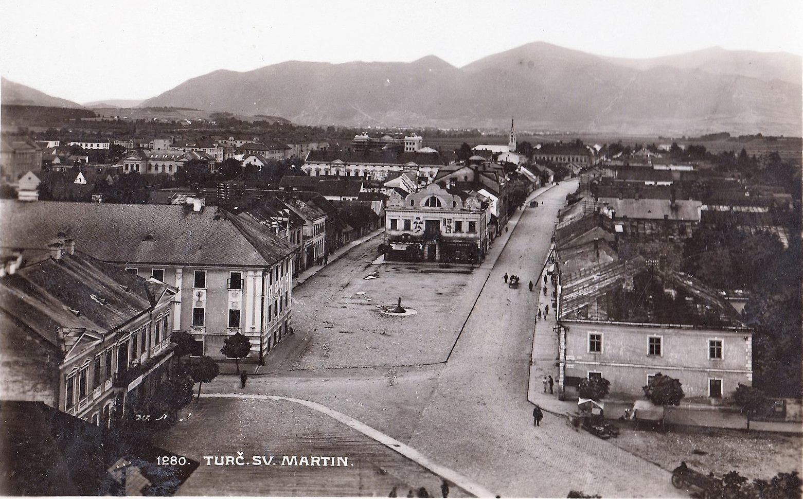 1928, centrum mesta