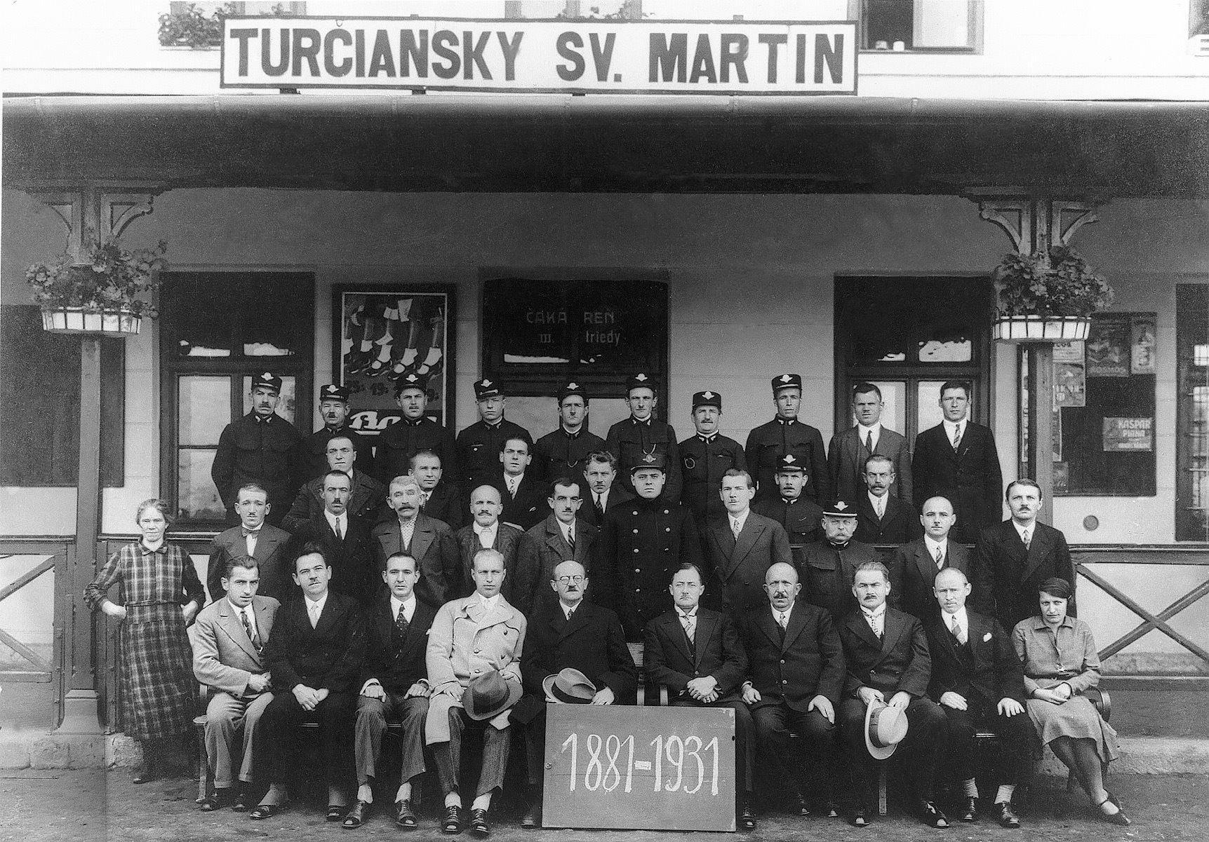 Stanica, 1931