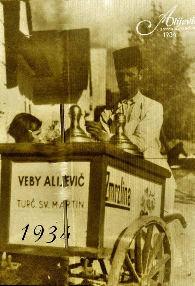 Zmrzlina v meste, 1934