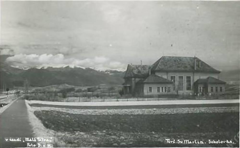 Sokolovňa, 1936