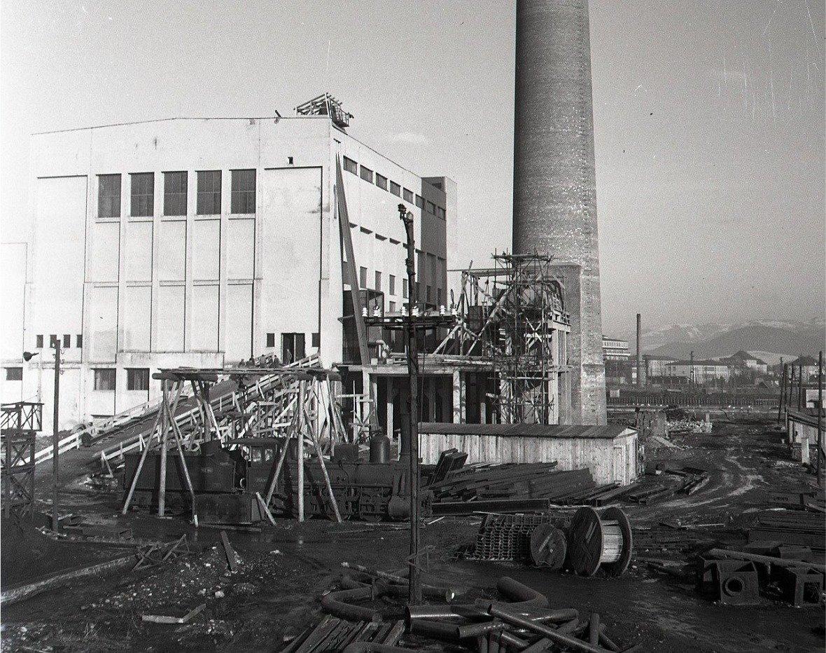 1955 - Nová tepláreň