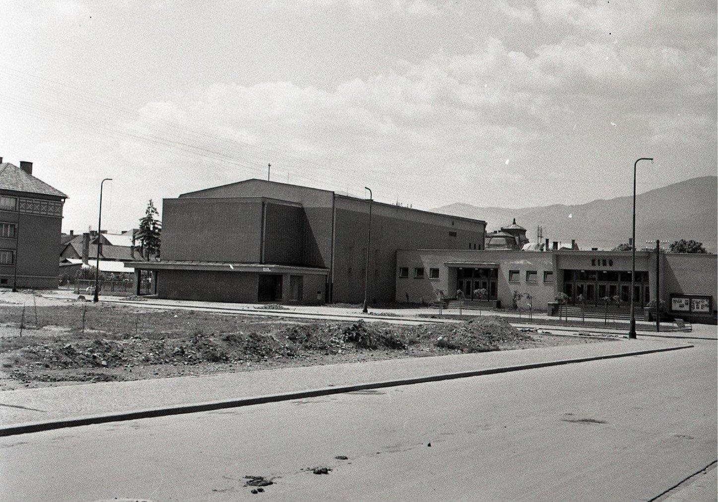 1956 - nové moderné kino