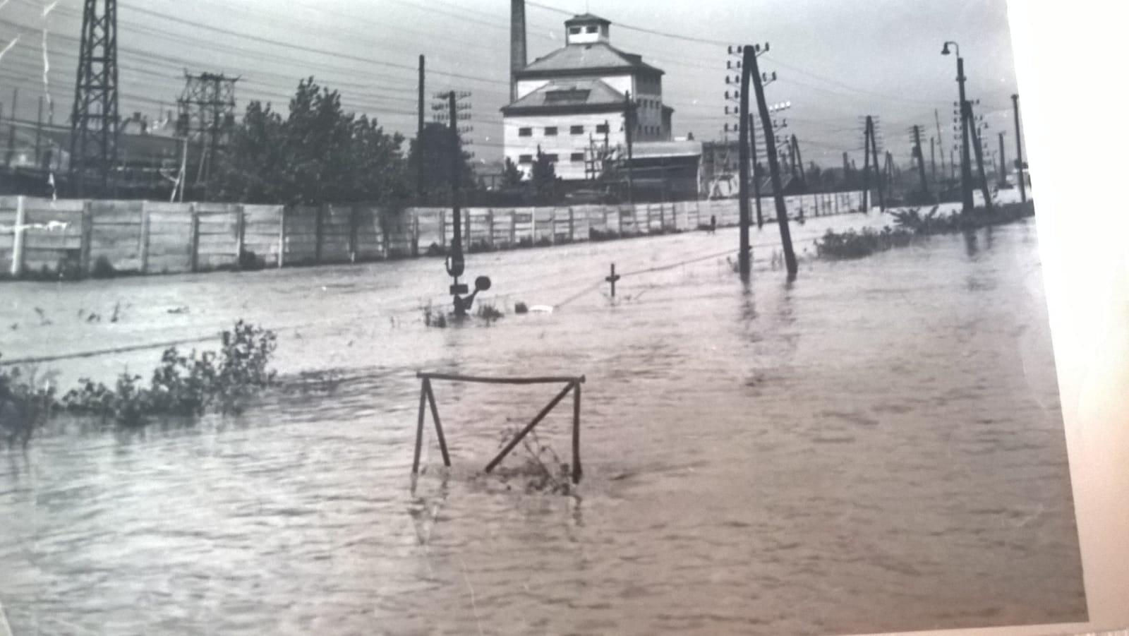 1960, zaplaveny Martin