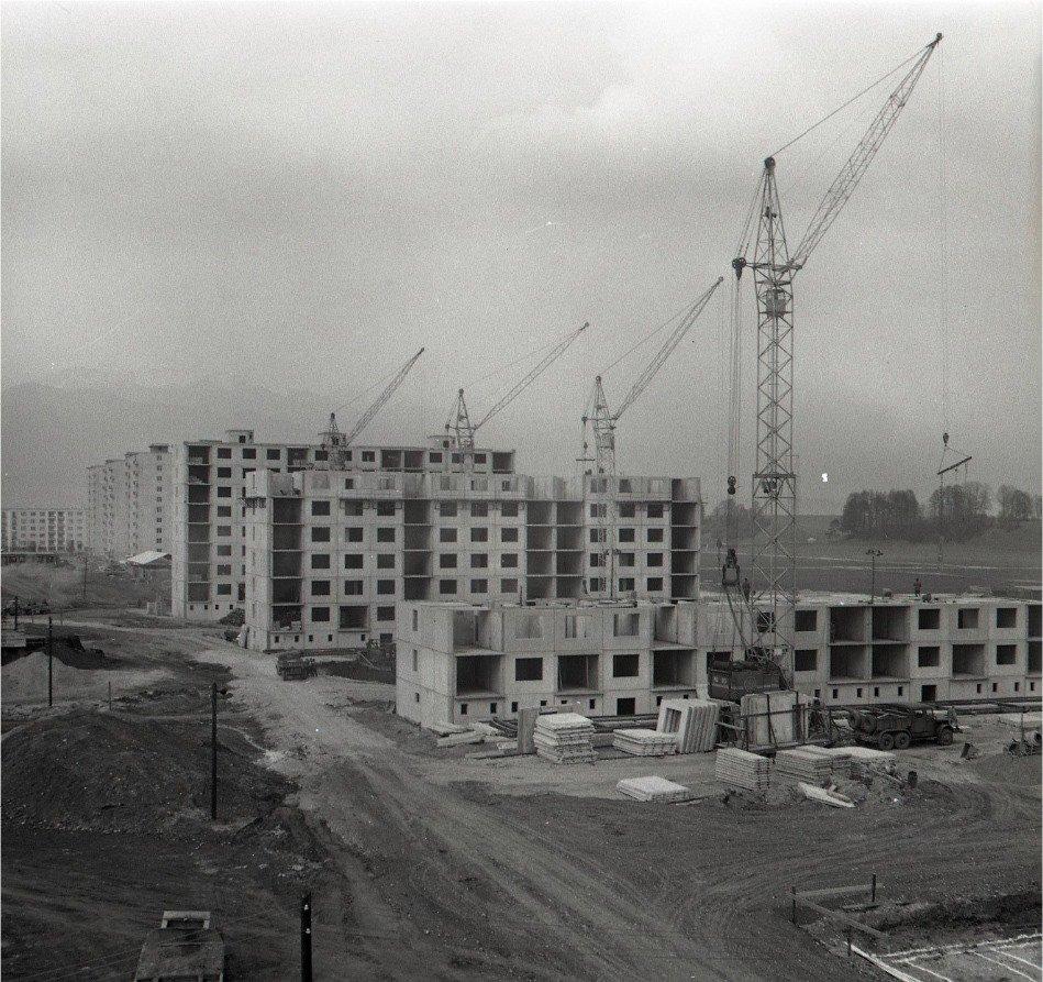 1964 - Raritný záber zo sídliska sever