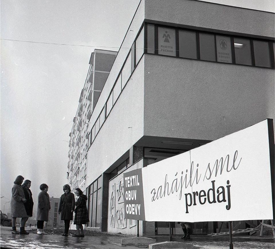 1965 - Nový obchodný dom v Martine