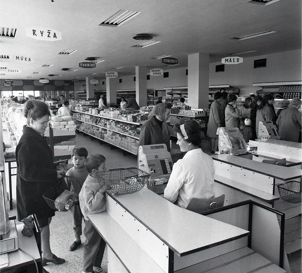 Obchod v MT, 1970