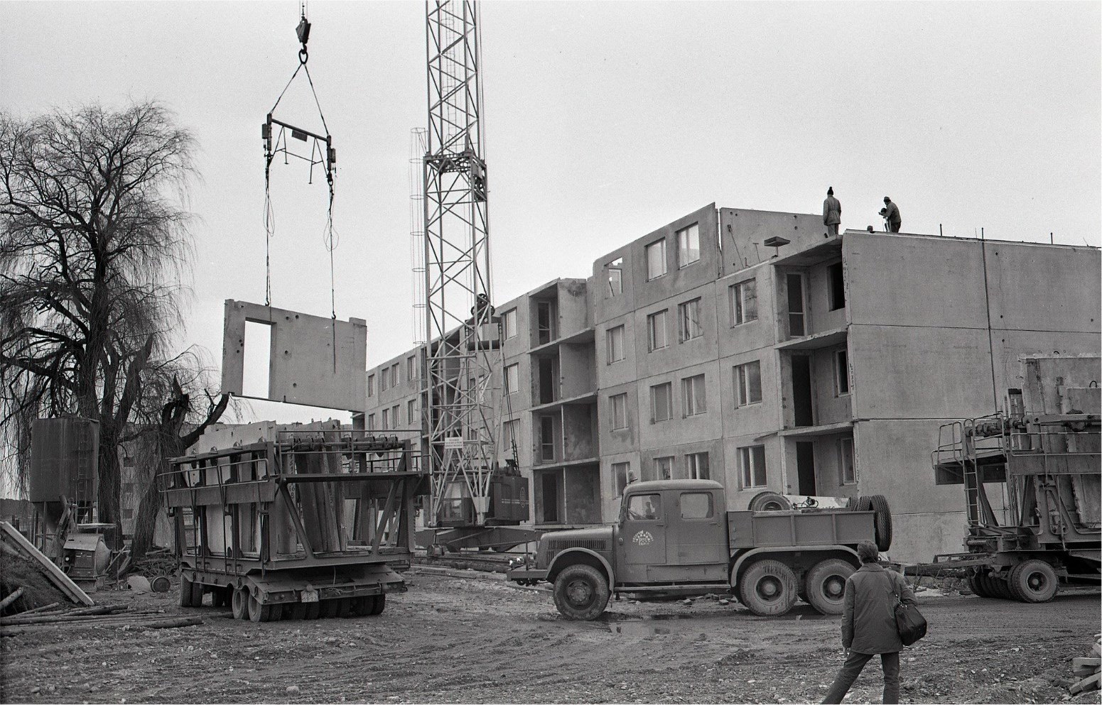 Výstavba Sídliska v MT, 1972