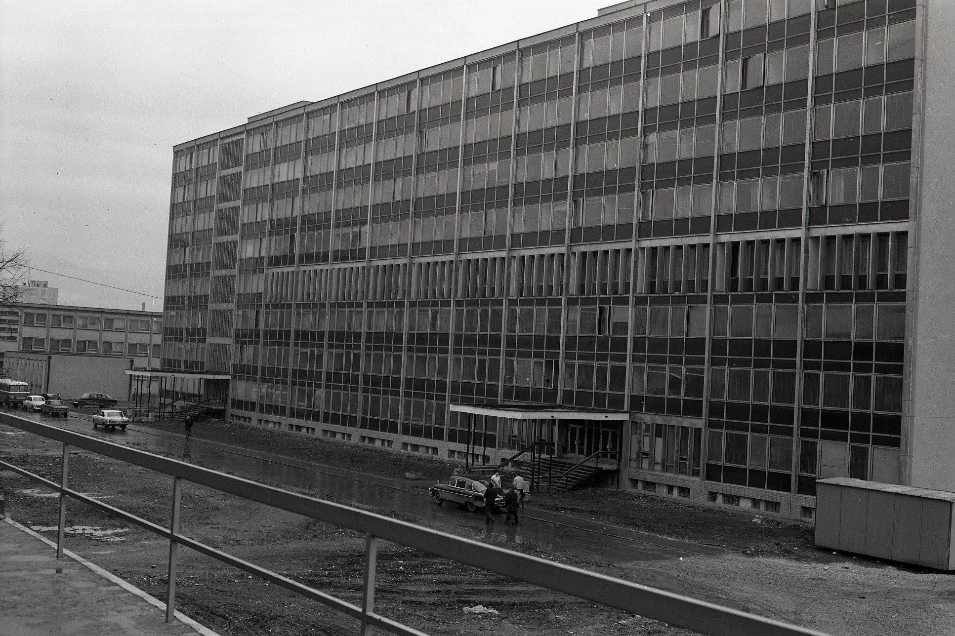 1975 - Nová Budova ONV A MsNV V Martine.