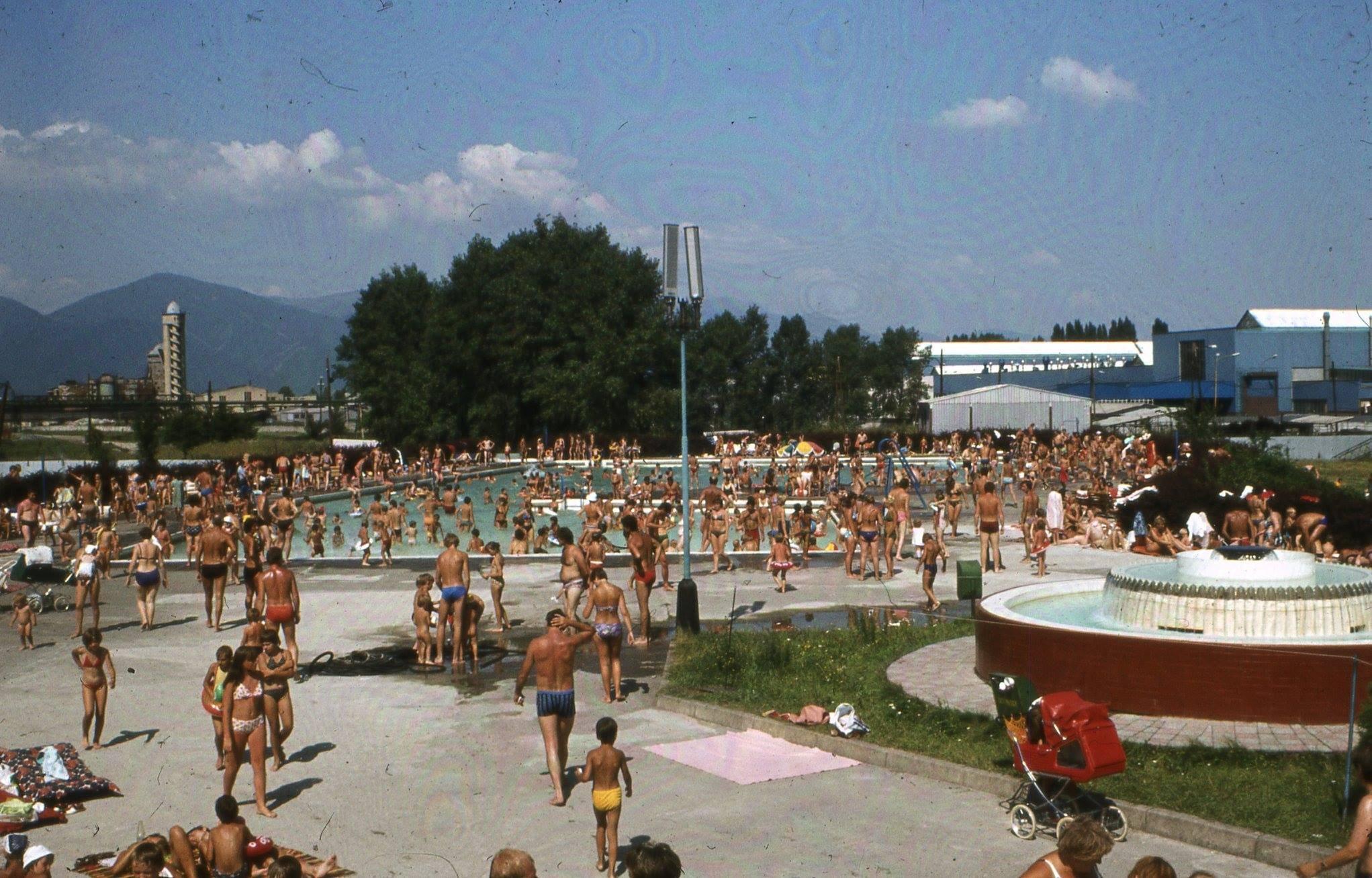 1981 - kúpalisko