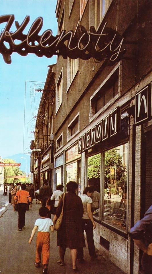 1984 - pohľad na mesto