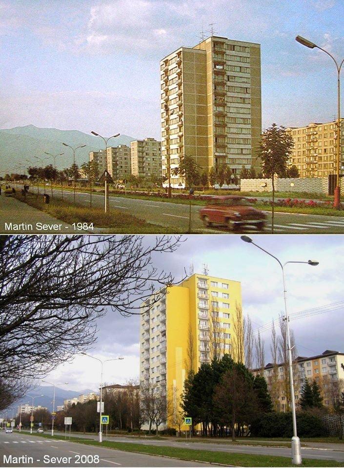 1984 - sídlisko Sever