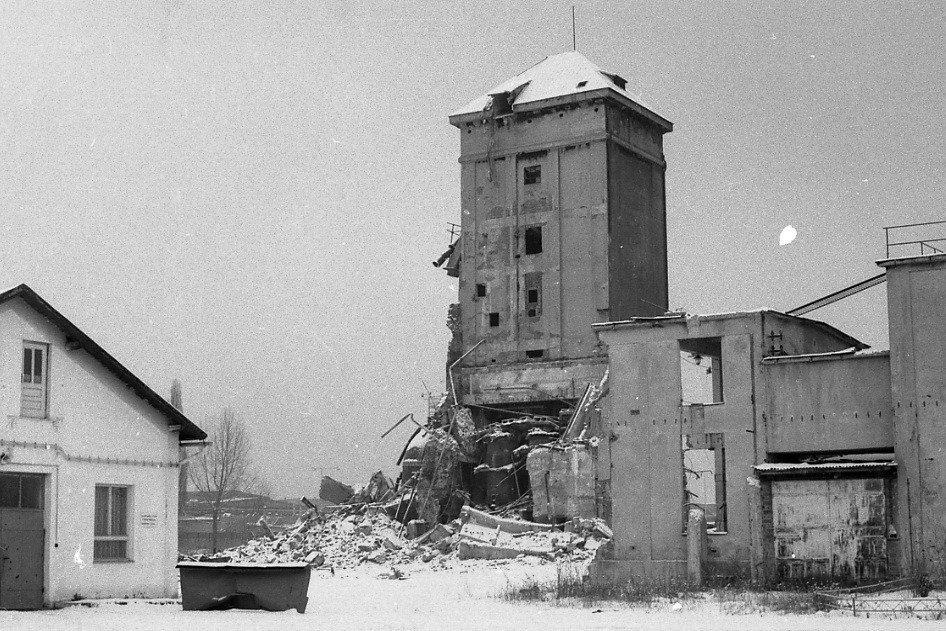 1987 - odstrel celulózky