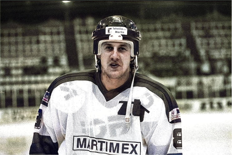 Dmitrij Kamyšnikov, čerstvá posila ZŤS Martin, 1995