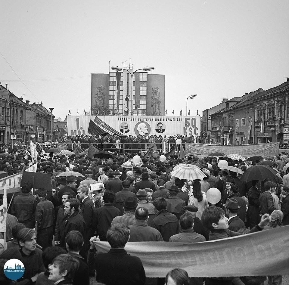 2.5.1971 - Prvomájová manifestácia v Martine