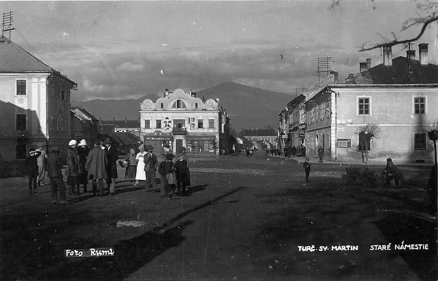 Mesto v 20tych rokoch