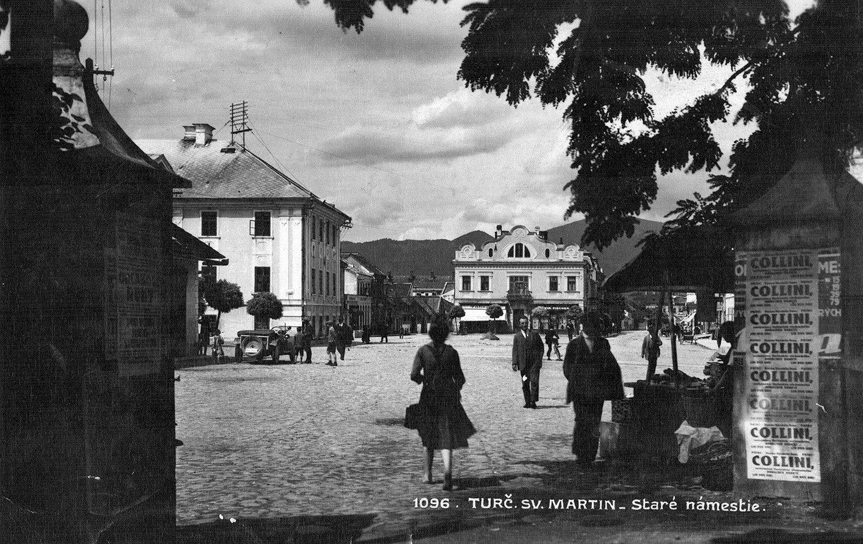 Staré námestie, 30te roky