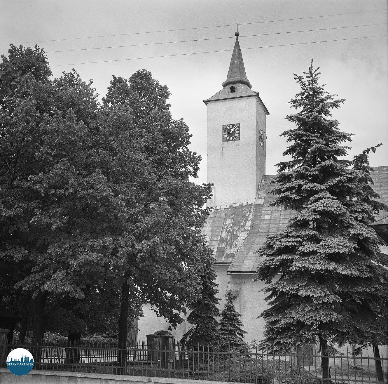 Renovovaný rímsko-katolícky kostol je najstaršou budovou v Martine. Postavili ho v roku 1284.