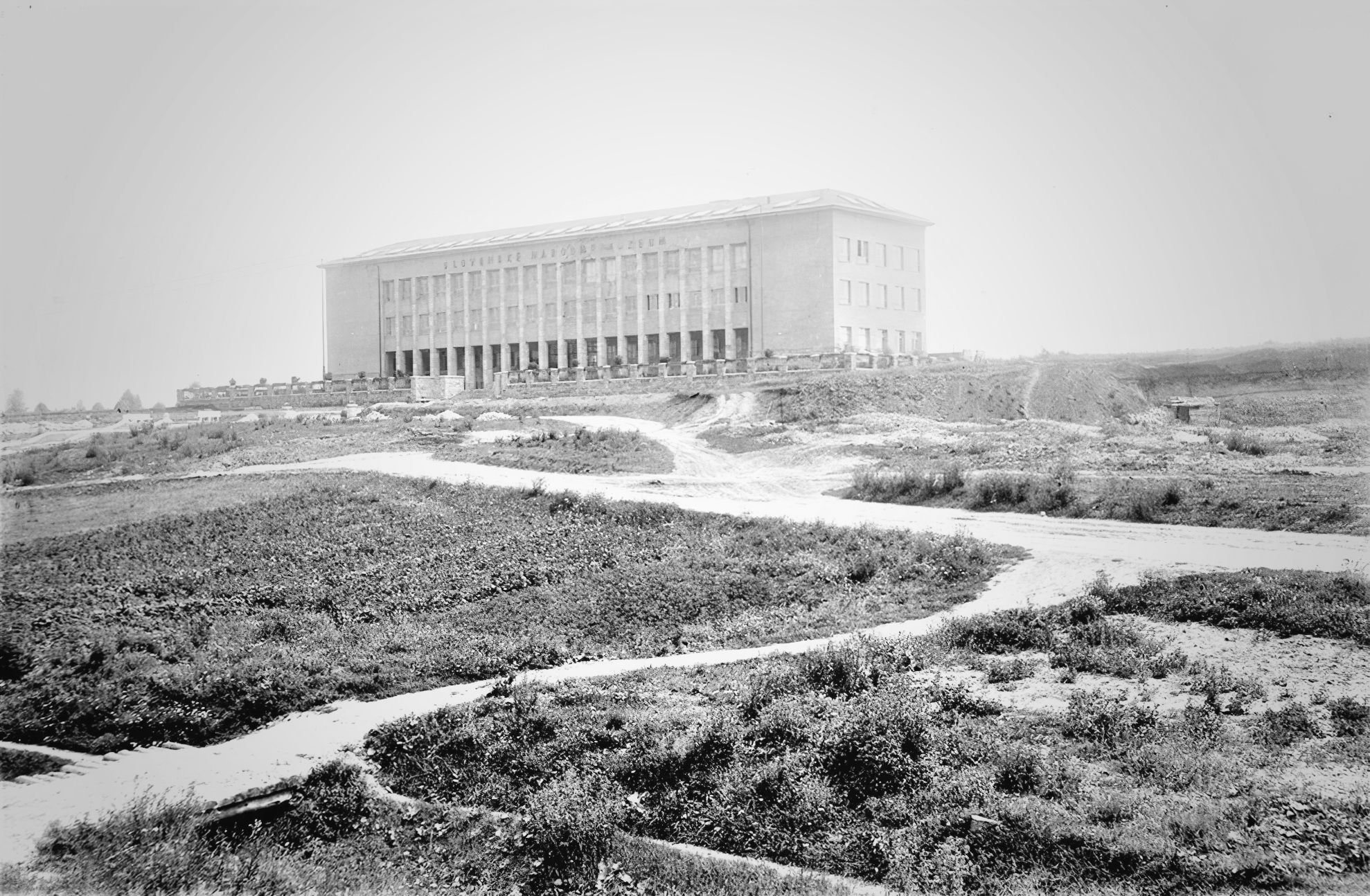 Novostavba 2. budovy Slovenského národného múzea, rok 1934