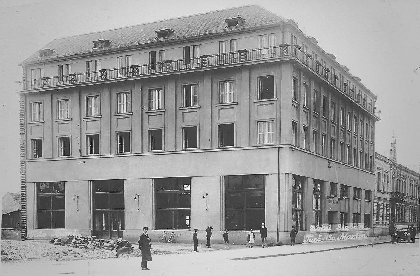 Hotel Slovan kedysi