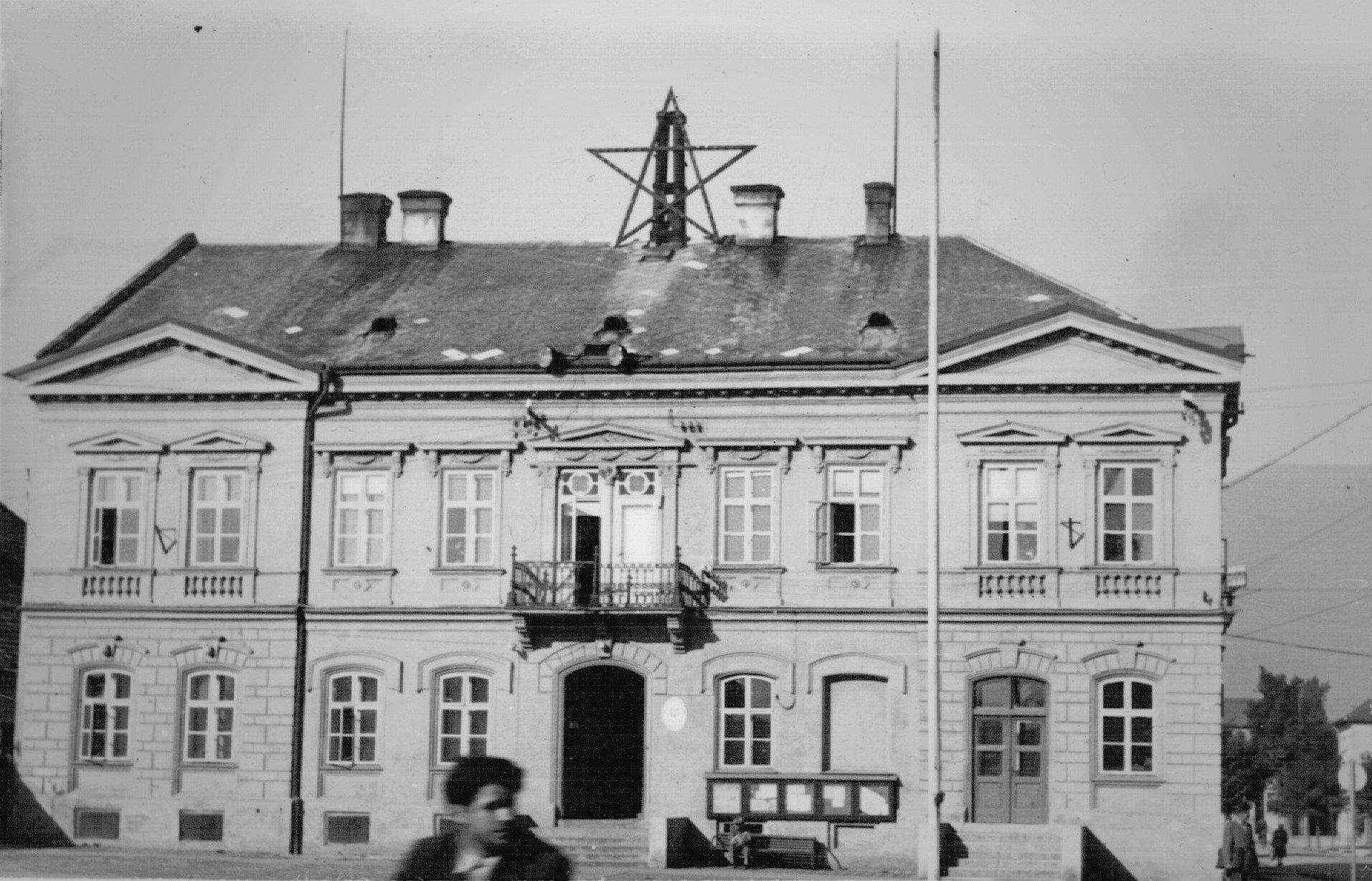 Glückstahlov dom, neskôr mestský úrad, nedatovaná