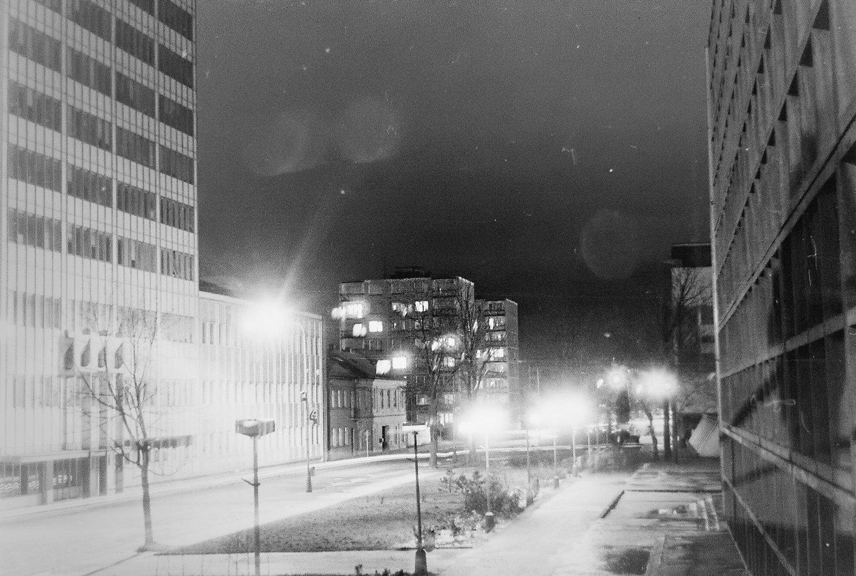 Neografia v noci
