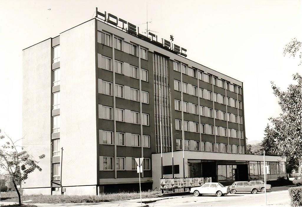 Hotel Turiec, asi 80te roky