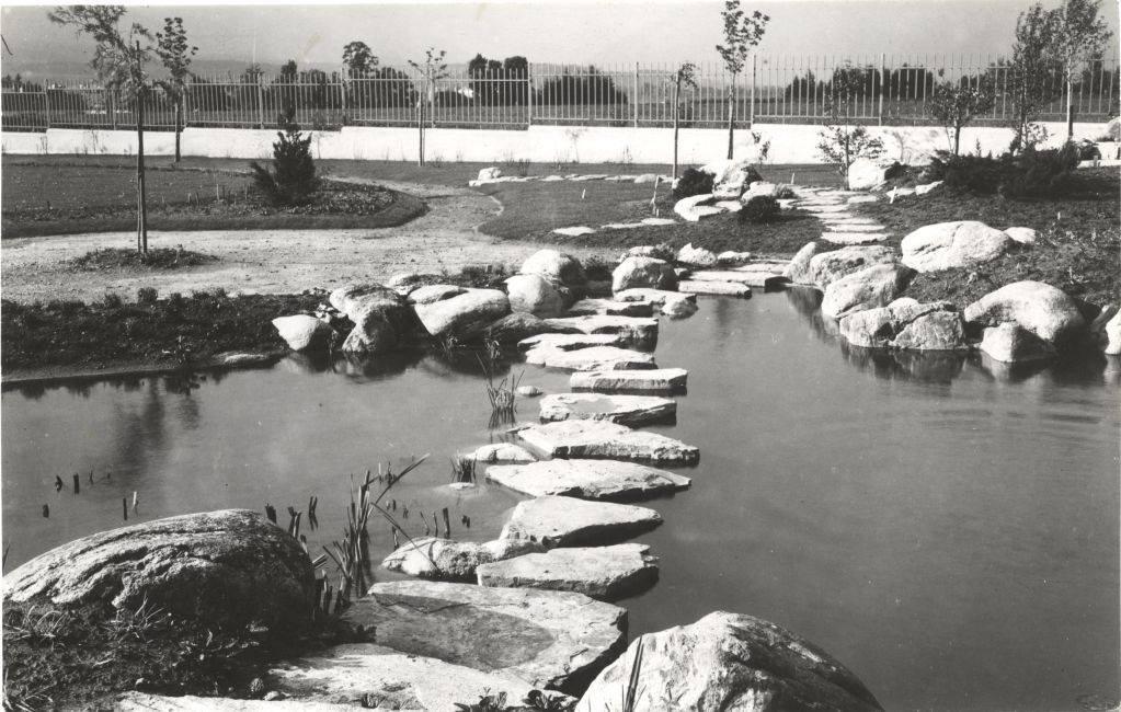 Botanická záhrada SNM z roku 1936