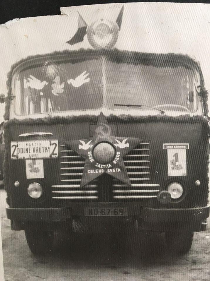 asi 1950, autobus jazdil na trase MT - Vrútky