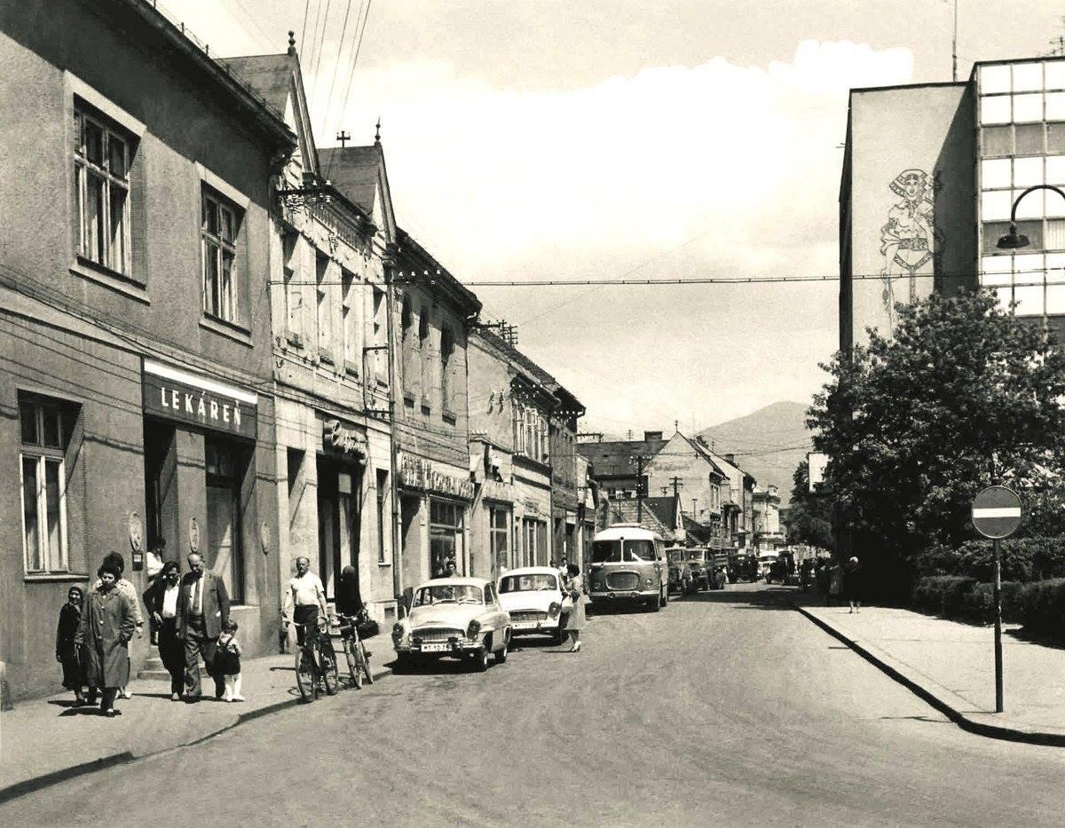 Jednosmerka v 60tych rokoch