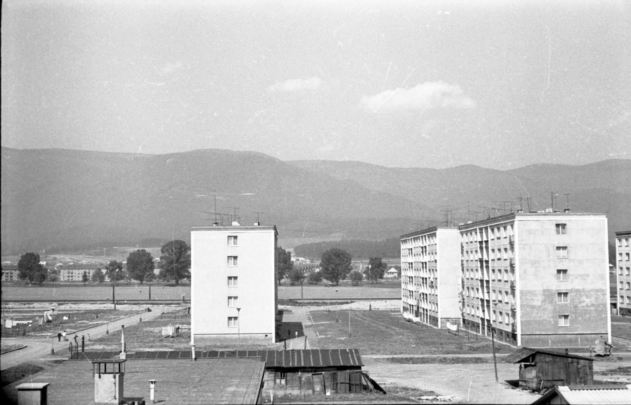 Martin - sever, pohľad na Ul. Kozmonautov, 1963