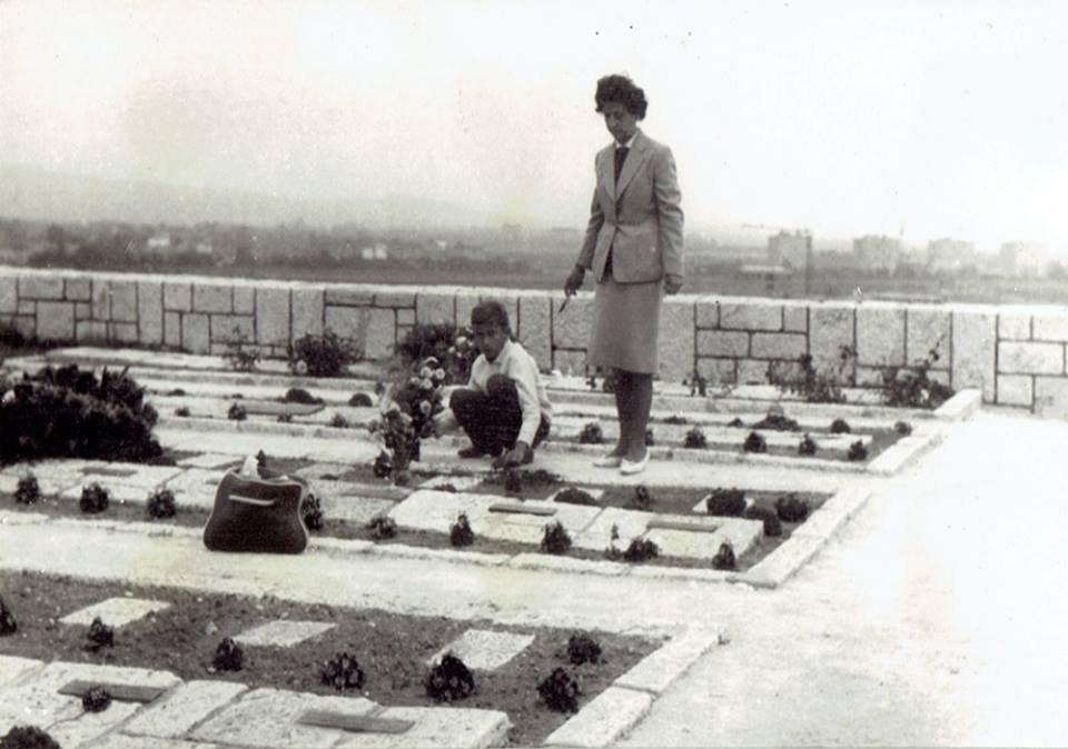 Partizánský cintorín, 1964