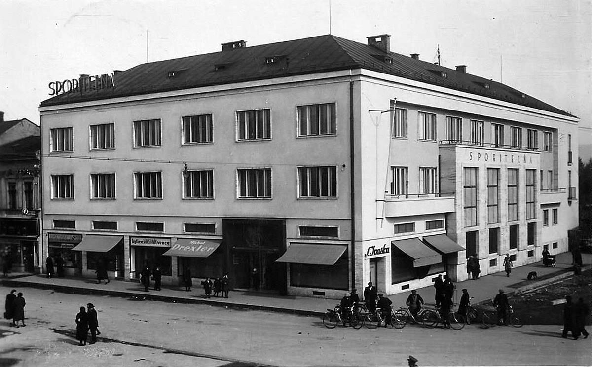 Pohľad na sporitelňu, 1940