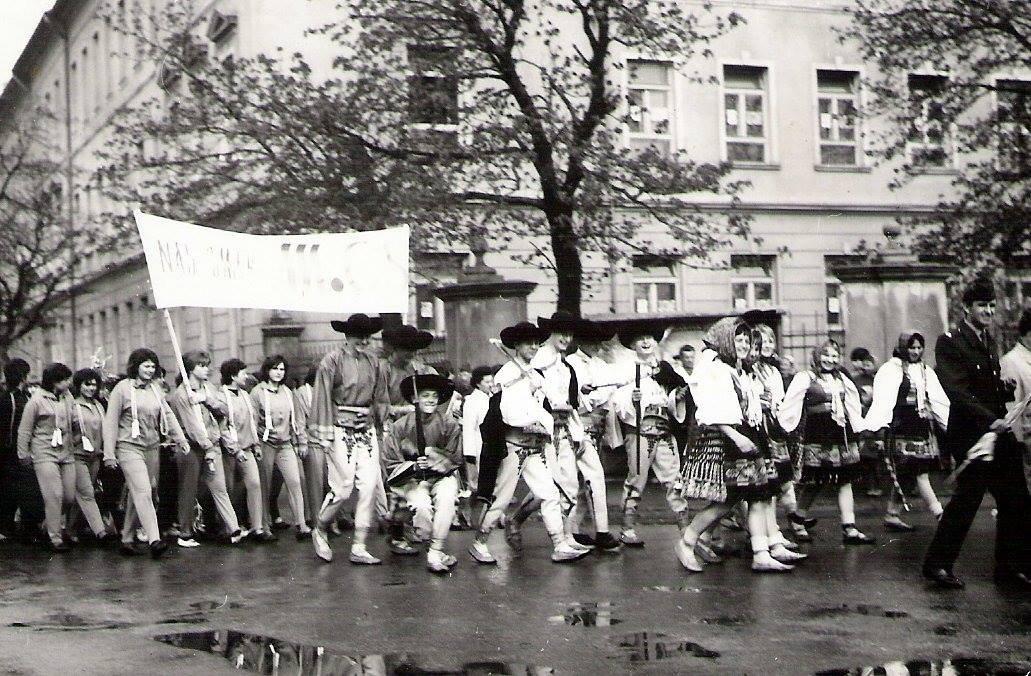 Prvomájový sprievod, rok 1965