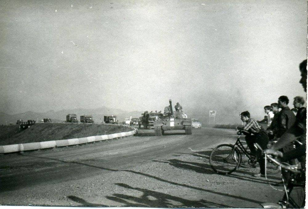 Tanky v priekope, 60te roky