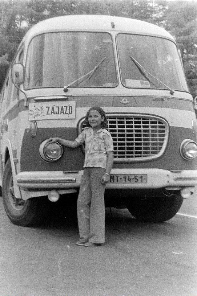 Zájazdový autobus ZŤS, 70te roky