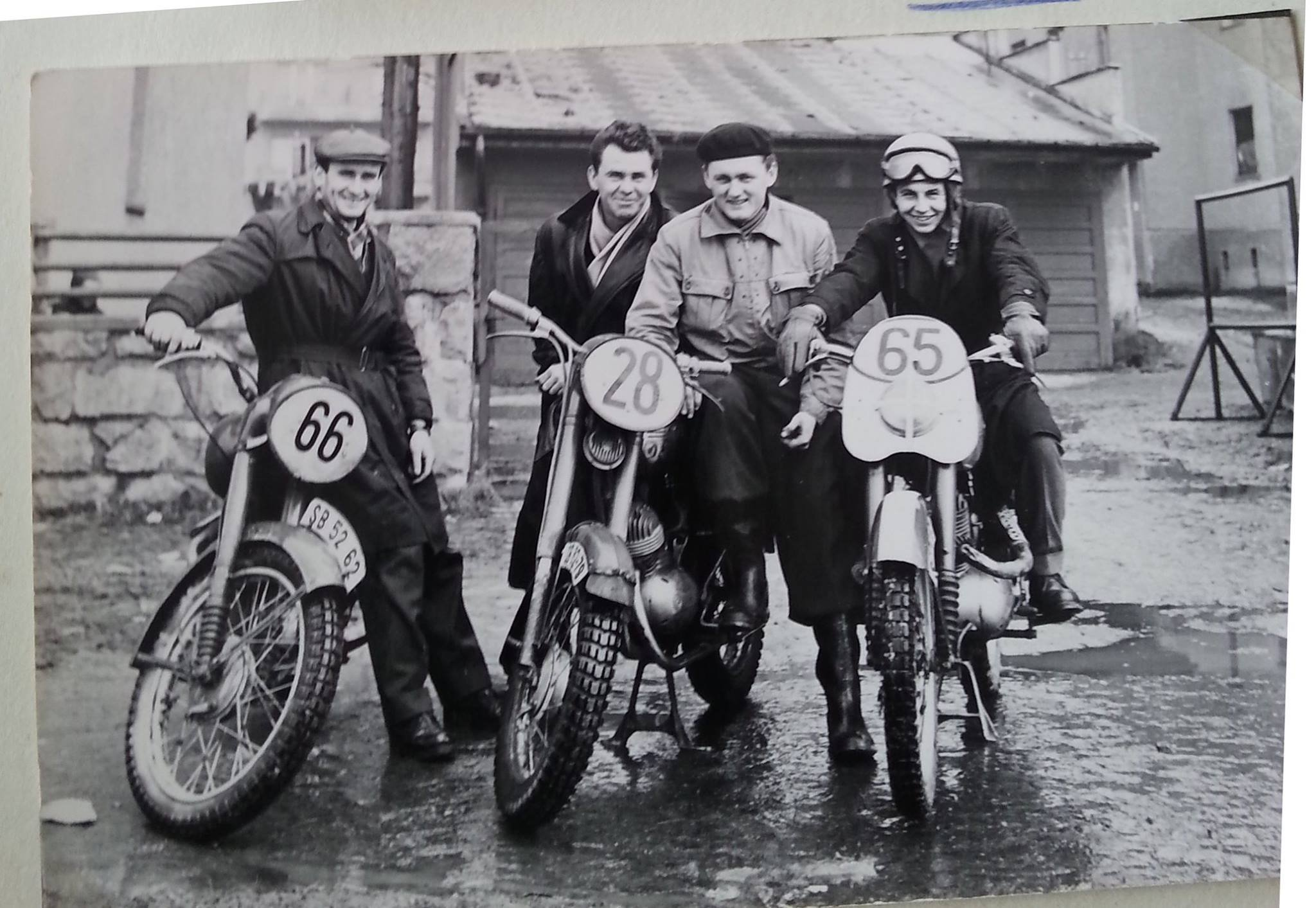 Zakladatelia moto športu v MT, 70te roky