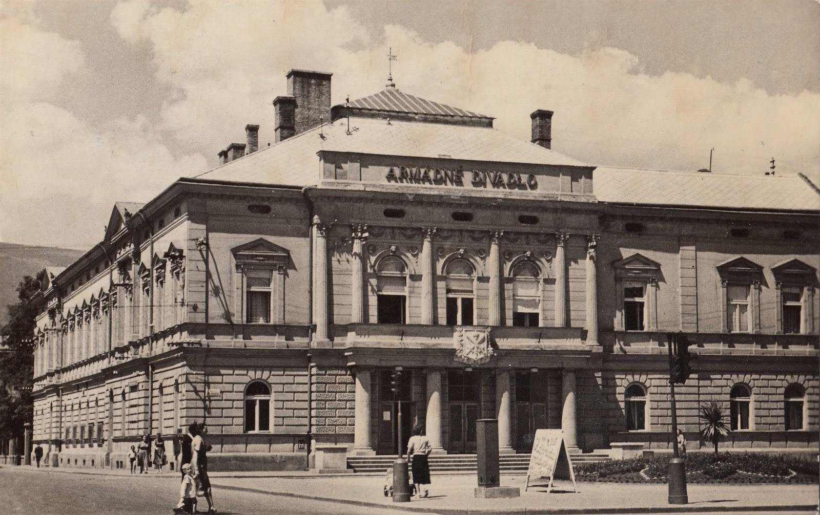 Armádne divadlo, 1958