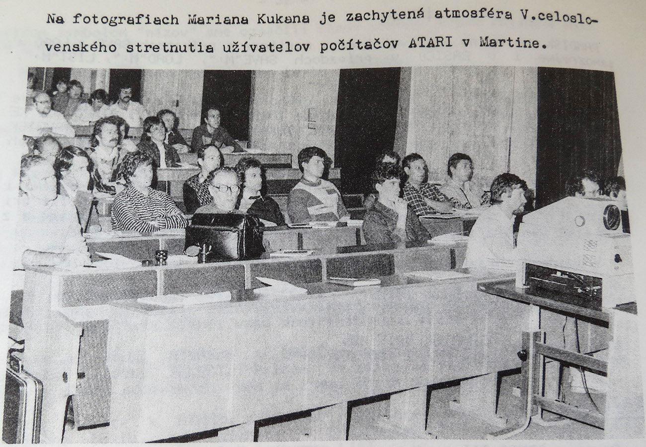 Stretnutie ataristov, 80te roky