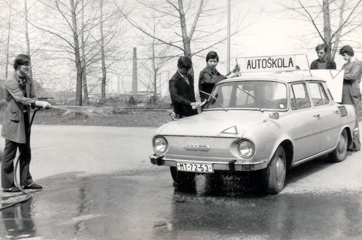Autoskola pri spš, 60te roky
