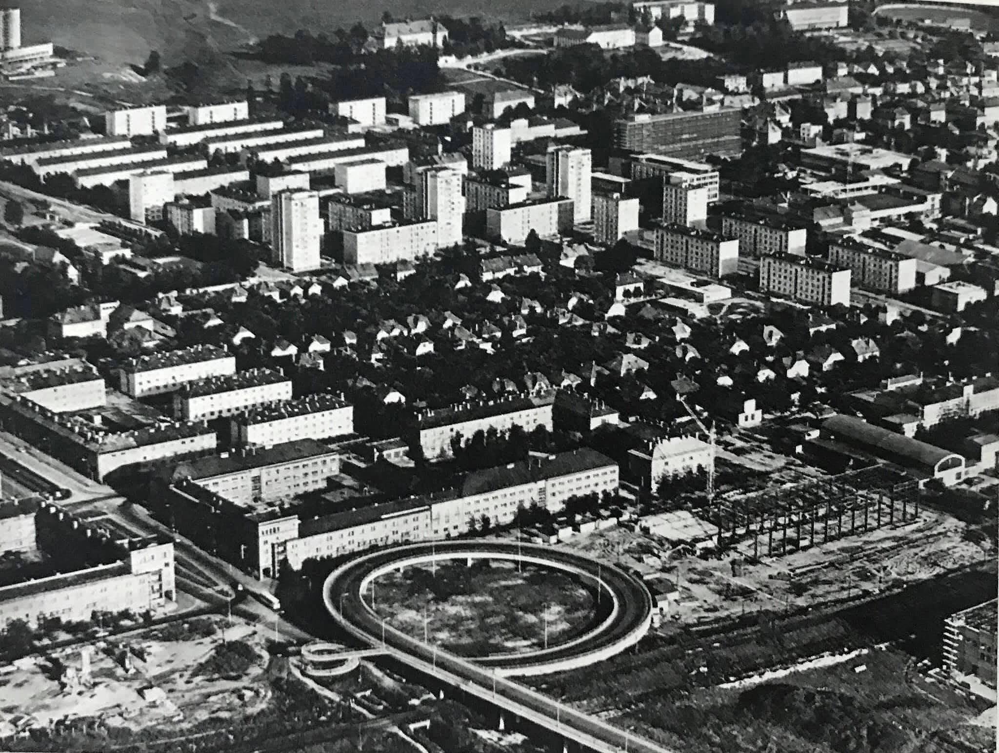 Letecký pohľad, 70te roky