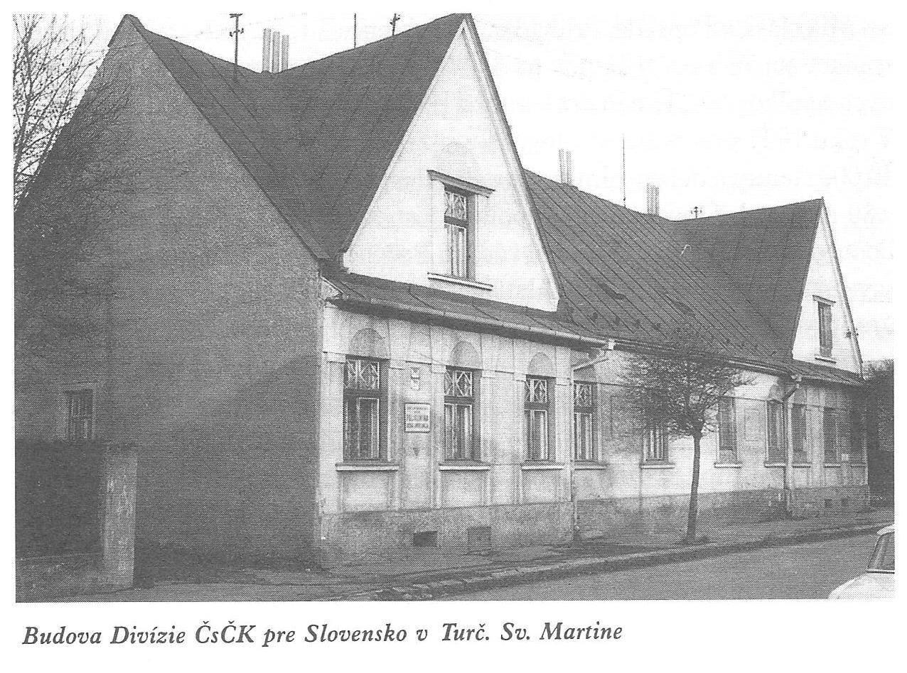 Budova divízie, 30te roky