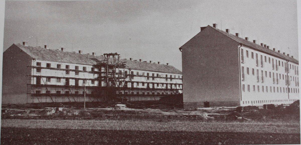 Byty pre zamestnancov Stalinových závodov pod Maticou, 60te roky