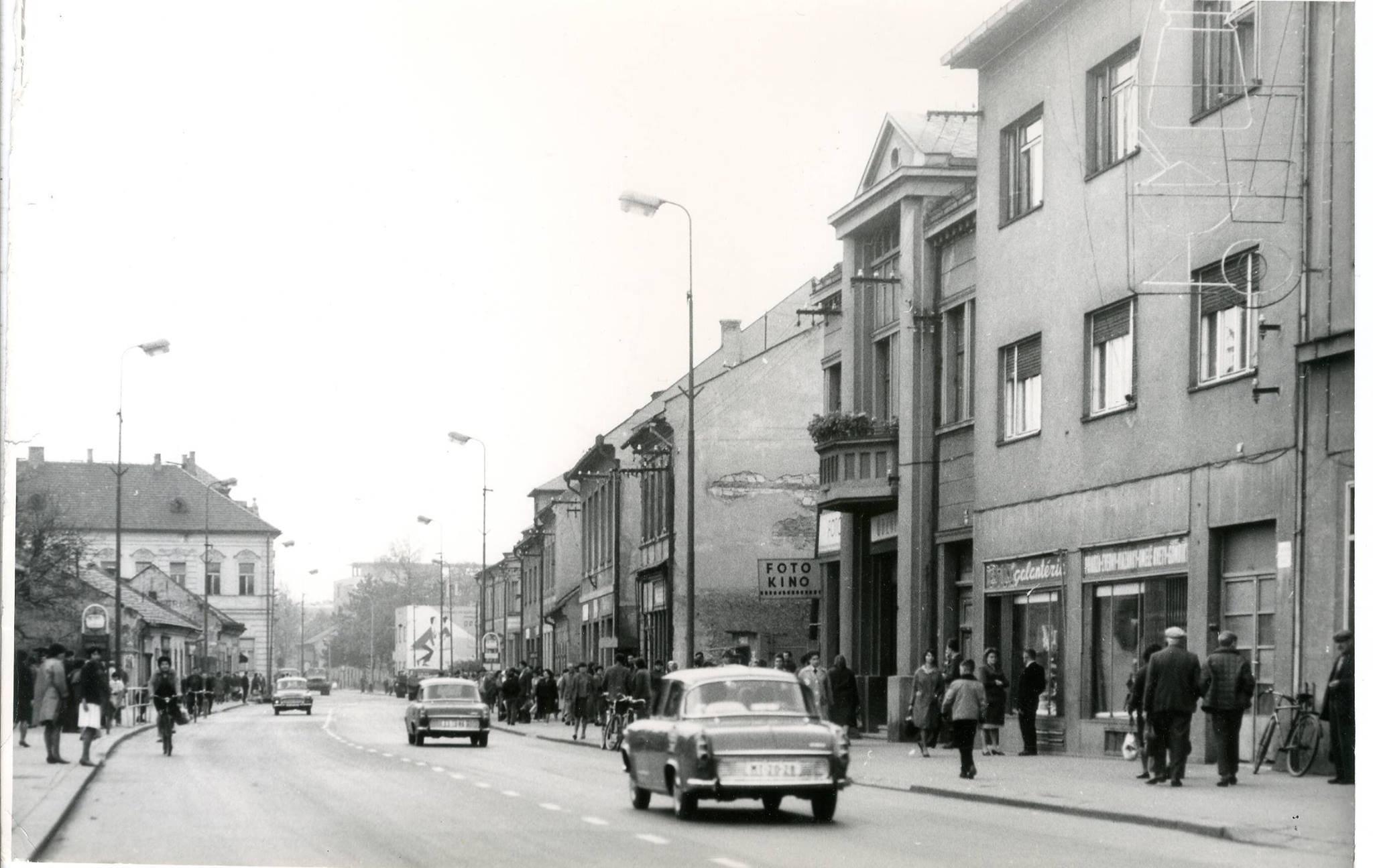 Centrum, 70te roky