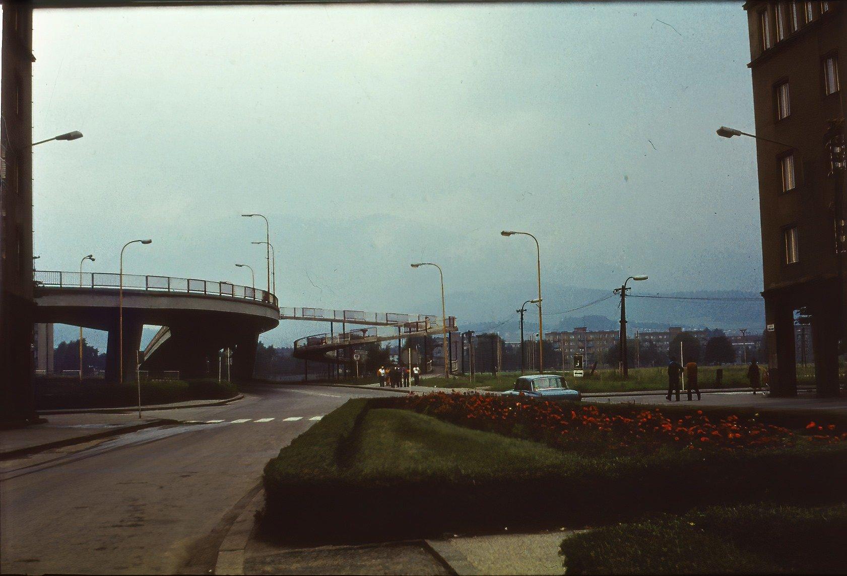 Ulica Červenej armády, rok 1982