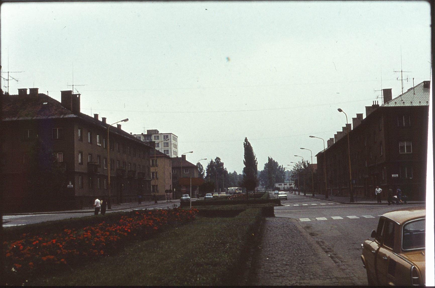 Ulica Červenej armády, 1982